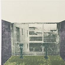 Olafur ELIASSON (né en 1967, vit et travaille à Berlin) Interior Lithographie Signée et numérotée 22/90 au dos 56 × 56 cm