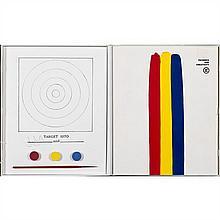 Jasper JOHNS (né en 1930, vit et travaille à New York) Technics & Creativity II, 1971 Estampes et pastilles de peinture Sign...