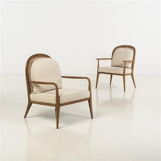 f Paul McCobb (1917-1969)Deux fauteuils