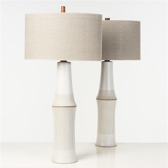 Gordon & Jane Martz (XXe)Paire de lampes