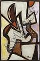 Jean-Michel ATLAN (1913-1960) Sans titre, 1956