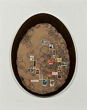 Ruth Franken (1924-2006) Humpty- Gray (de la série Objekte), 1969