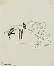 Victor Brauner (1903-1966) Femme zoomorphe, 1929