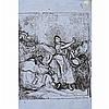 Alfred Dehodencq (Paris 1822 - 1882)La danse gitanePlume et encre brune sur papier bleu19 × 12,5 cm(Taches), Alfred Dehodencq, €200