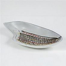 Roger Capron (1922-2006)PlatCéramique émailléeEdition VallaurisDate de création : vers 1960H 10 × L 50 × P 25 cm