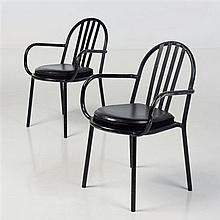 Robert Mallet-Stevens (1886-1945)Paire de fauteuilsMétal tubulaireH 84 × L 58 × P 47 cm