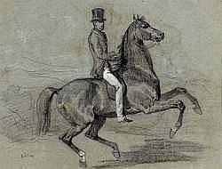 François Hippolyte LALAISSE (1812-1884) - Élégant