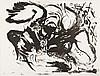 Édouard PIGNON (1905-1993) [Composition au coq], 1971