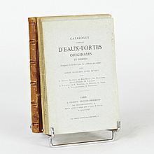 CATALOGUE (S) COMPLET (S) D'EAUX-FORTES ORIGINALES ET INEDITES Composées et gravées par les artistes eux-mêmes… Paris, Cadart, 1874,..
