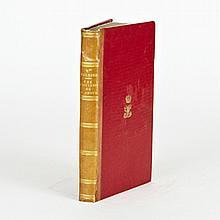 Marceline DESBORDE-VALMORE. Une raillerie de l'amour. Paris, Charpentier, 1833. In-8, demi-cuir de Russie blond, chiffres sur les pl..