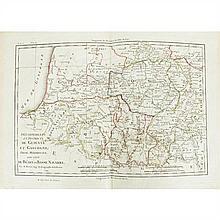 Albert GRENET. Atlas portatif général pour servir à l'intelligence des auteurs classiques. Paris, Jean,s.d. (vers 1780). In-4, demi-...
