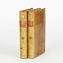 François De Salignac De Lamotte FÉNÉLON. Les Aventures de Télémaque. Paris, Didot, 1814.2 volumes in-8, veau raciné, filets et roule...