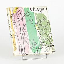 Jacques LASSAIGNE. Chagall. Paris, Maeght, 1957. In-8, cartonnage de l'éditeur.ÉDITION ORIGINALE ornée de 15 lithographies originale...
