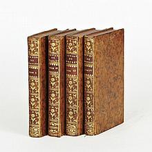 Marguerite de LUSSAN. Histoire de la révolution du royaume de Naples, Dans les Années 1647 et1648. Paris, Pissot, 1757. 4 volumes in...