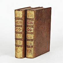 Charles ROLLIN. De la manière d'enseigner et d'étudier les Belles-Lettres, par raport (sic) à l'esprit etau coeur… Paris, Veuve Esti...
