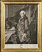 Johann Georg WILLE(1715-1808) Abel François Poisson, Marquis de Marigny, Conseiller du Roy en ses Conseils, Commandeur de ses Ordres, D
