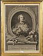 Johann Georg WILLE(1715-1808) Ludovicus Victor et Pacator