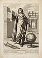 Grégoire Huret (1606-1670) (d'après) L'Aritmétique (sic) ; La Géométrie ; La Dialectique. Gravé par Rousselet. 210 x 305. Belles épr.