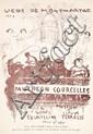 Pierre Bonnard Panth éon-Courcelles (Lieds de Montmartre, n° 1)
