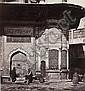 James ROBERTSON & Felice BEATO  Figures at the fountain of Sultan Ahmet III, Istanbul, 1853 Épreuve d'époque sur papier albuminé mon...