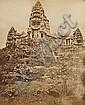 ALBUM DE PHOTOGRAPHIES : Saïgon, Phnom Penh, Angkor… Paysages, portraits de mandarin, pagodes, types ethniques, sculptures, Cambodge...