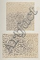 Auguste Rosalie BISSON; (1826-1900) « Choix d'ornements arabes de l'Alhambra, offrant une synthèse de l'ornement mauresque en Espagn...