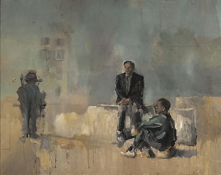 Christian BERARD (1902-1949) Les Comédiens