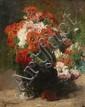 Georges JEANNIN (1841-1925) Bouquet de fleurs, 1895