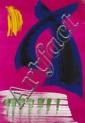 Gérard Ernest SCHNEIDER (1896-1986) Composition, 1974