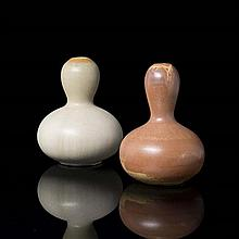 Axel Salto (1889-1961)Paire de vases double gourde