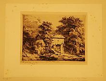 Eugène BLÉRY À SAINT PIERRE D'ALBIGNY (SAVOYE) ; LA SCIERIE À SAINT PIERRE D'ALBIGNY (SAVOYE), 2e PLANCHE