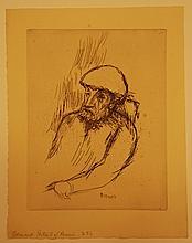 Pierre BONNARD PORTRAIT DE RENOIR
