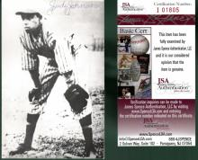 Judy Johnson Signed Photo Postcard JSA I01805