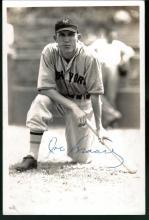 Joe Moore Signed 4x6 George Burke Photograph