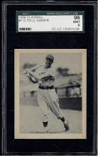 1939 Playball 112 Paul Waner Sportscard Guaranty (SGC) 9