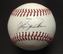 Fergie Jenkins Signed Little League Baseball