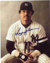 Reggie Jackson Signed 8 x 10 Photograph Certified by The Score Board
