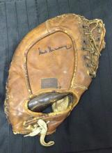 Hank Greenberg Signed Autographed Vintage Glove Certified by JSA