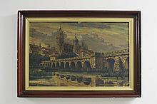 Painting Puente Sobre el Tormes