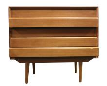 Danish Modern Teak 5 Drawer Chest