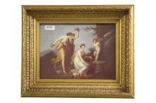 Framed reproduction print of