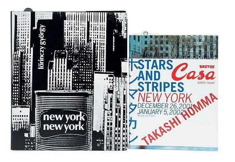 GYÖRGY, Lörinczy (1935-1981) et Takashi HOMMA (1962) 1) New York, New York de GYÖRGY. Réédition. Réf. : Parr / Badger, vol. 1, p. ...