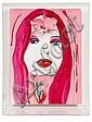 MARC QUINN (NE EN 1964) Yello Hallucination, 2007 Acrylique sur panneau gesso. H_40 cm L_30 cm. Avec plexi: H_44 cm L_33,5 cm P_13...