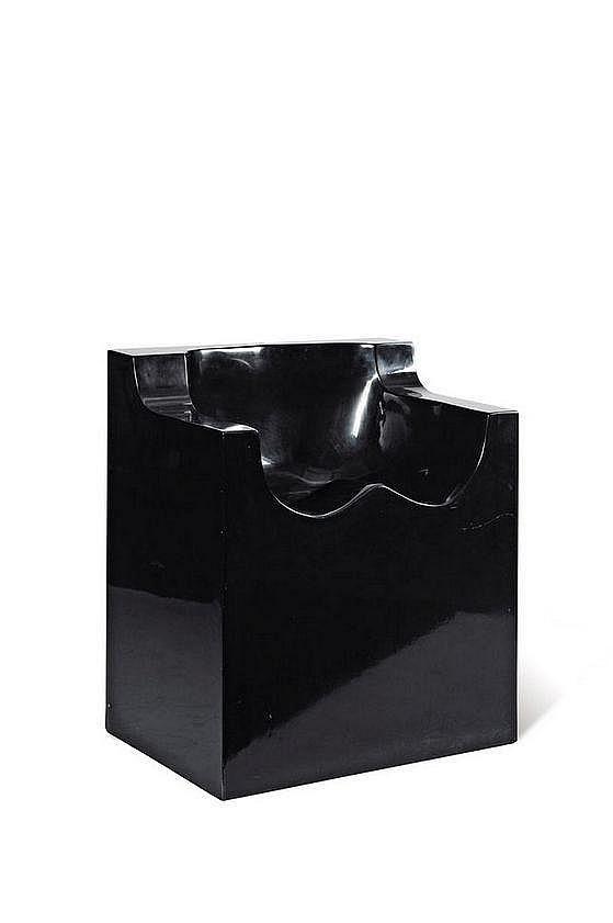 ROY ADZAK (1927-1988) Fauteuil sculpture, modèle