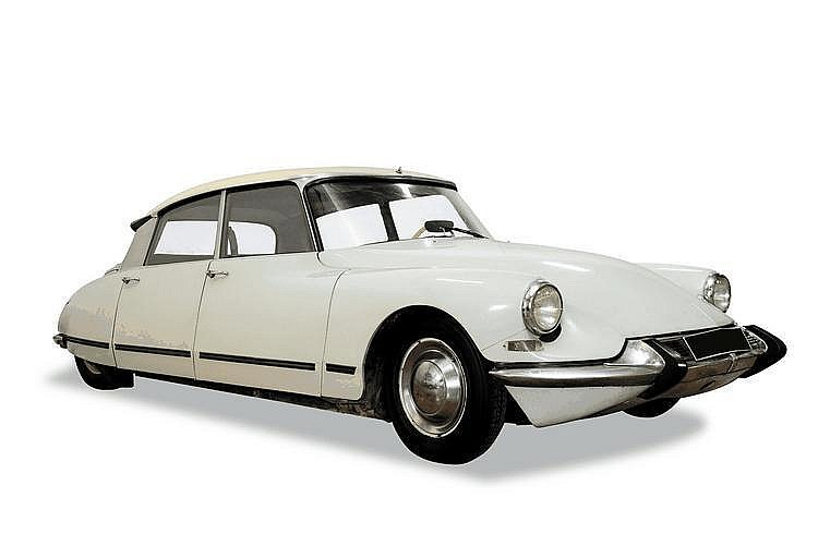 Citroën ID 19 1964 Châssis : n° 3632283 • Premier