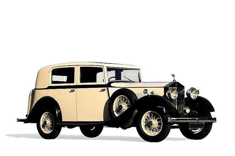 Rolls Royce 20/25 limousine par Hooper 1935