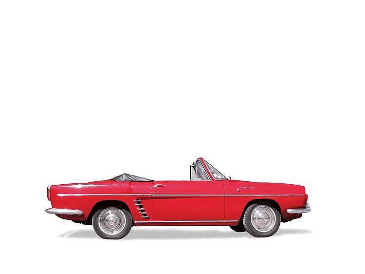 RENAULT FLORIDE / 1961 Châssis : n° 38342 • Modèle