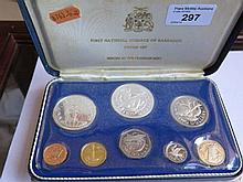 First National Coinage of Barbados Proof Set
