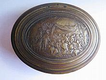 An Eighteenth Century Oval Snuff Box made from pre