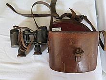 A Pair of Ross London 1918 Military Binoculars in